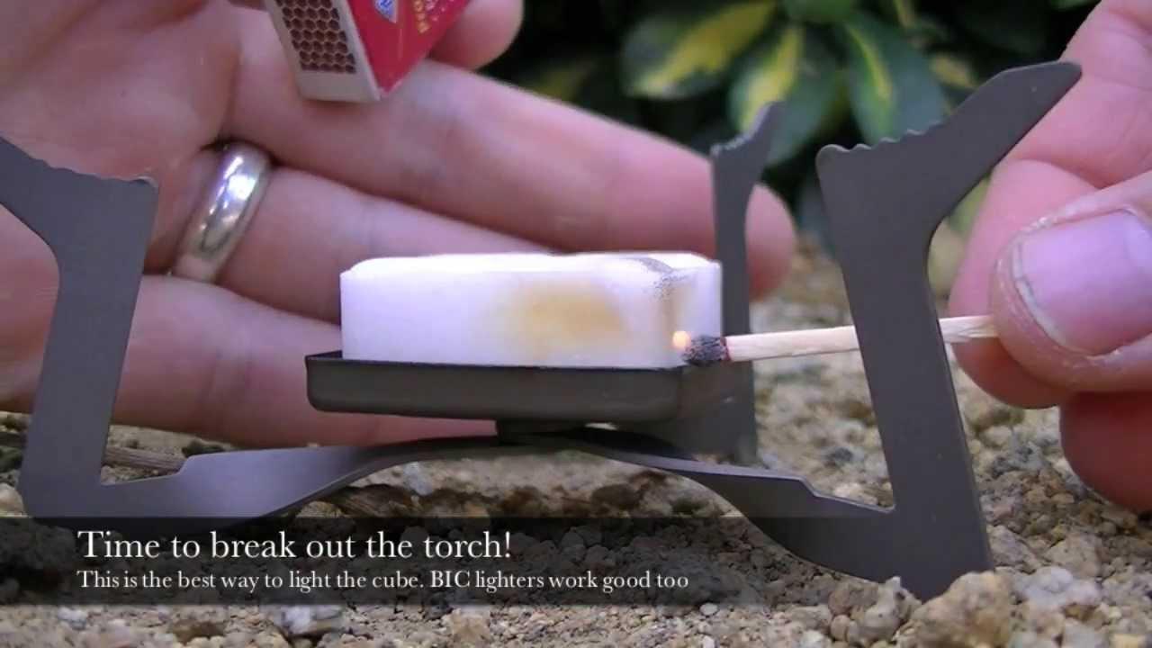 Esbit Titanium Ultralight Stove Review Youtube