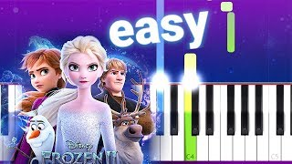 Download now Panic At The Disco - Into The Unknown Frozen 2 100 EASY PIANO TUTORIAL MP3