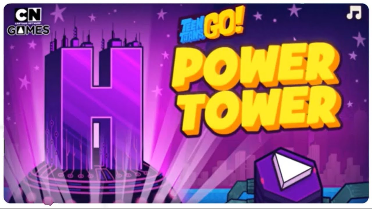 Download Teen Titans Go: Power Tower Full Game | Robin Infiltrates Hive Tower