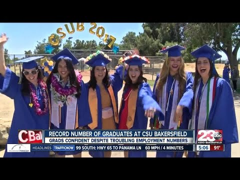 CSUB students celebrate graduation