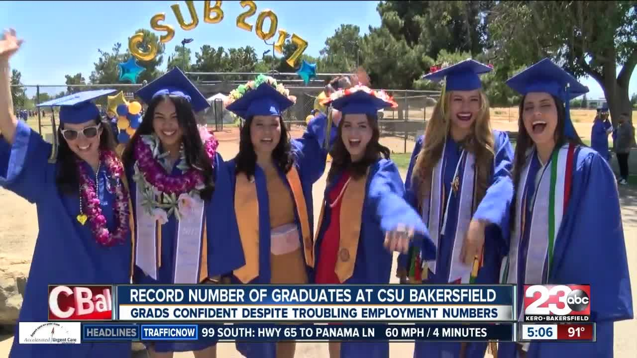 CSUB students celebrate graduation - YouTube