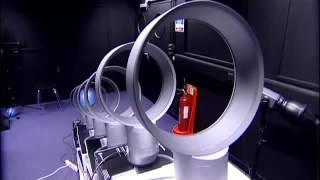 Dyson Air Multiplier Fans and Balloon Obstacle Course