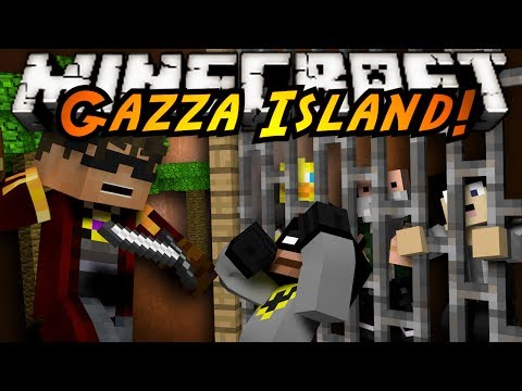 Minecraft Mini-Game : GAZZA ISLAND!
