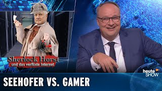 Anschlag in Halle: Seehofer will die Gamerszene beobachten