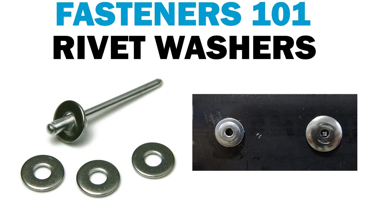 How To Install Backup Rivet Washers Vs Large Flange Rivets