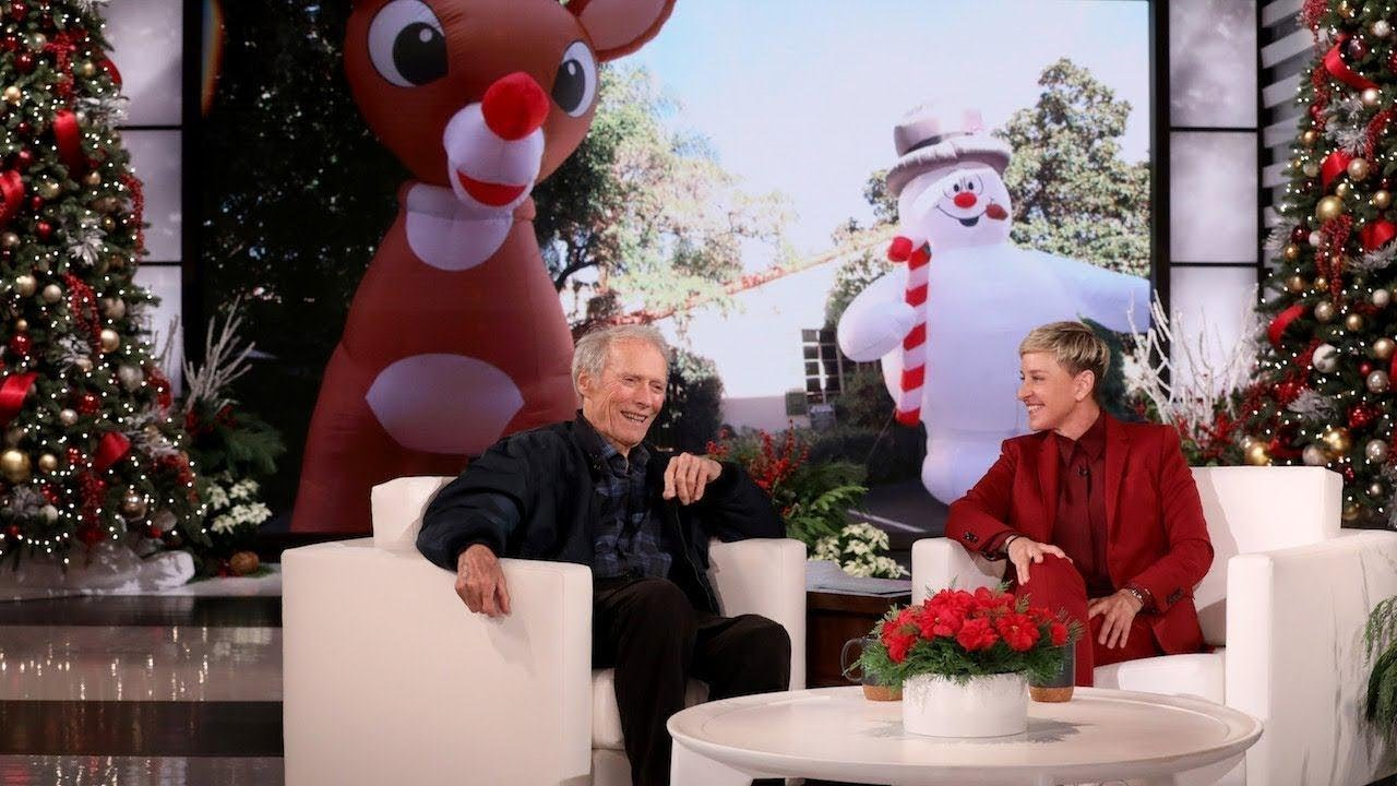 Clint Eastwood On What It S Really Like Being Ellen S