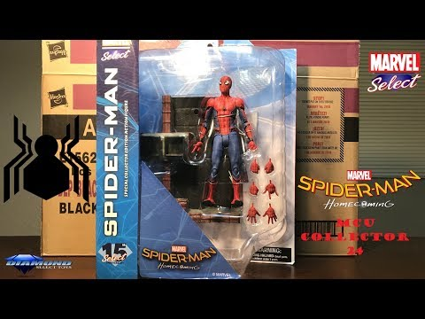 Marvel Select SPIDER-MAN HOMECOMING Figure Review