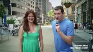 "Billy on the Street: ""It's Debra Messing, You Gays!"""