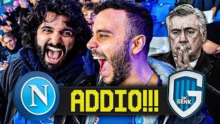 ADDIO!!! NAPOLI 4-0 GENK | LIVE REACTION SAN PAOLO CHAMPIONS LEAGUE HD