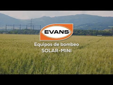 Equipos de bombeo Solar Mini Evans®