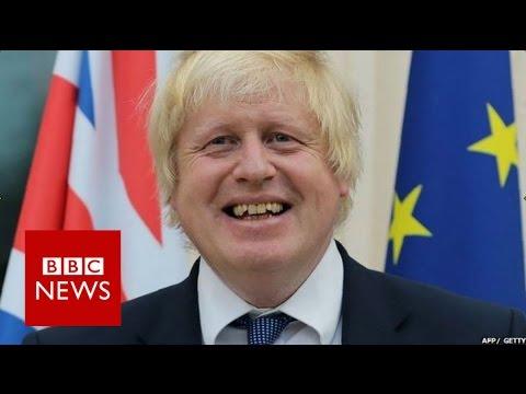 Boris Johnson booed at French Embassy - BBC News