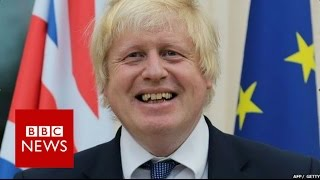 Boris Johnson booed at French Embassy - BBC News