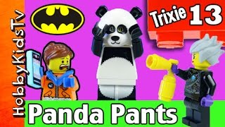 Trixie 13 Panda Pants Lego Imaginext Batman by HobbyKidsTV