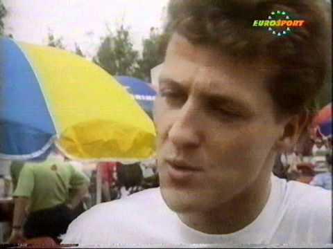 """Michael Schumacher 1992 intervew  """"I am not the new Senna"""""""