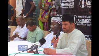 Benin Government Minister happy with Ahmadi Muslims offering flood relief