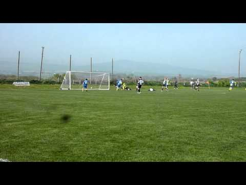 St John's Andy Glover completes hat-trick v Colby ...