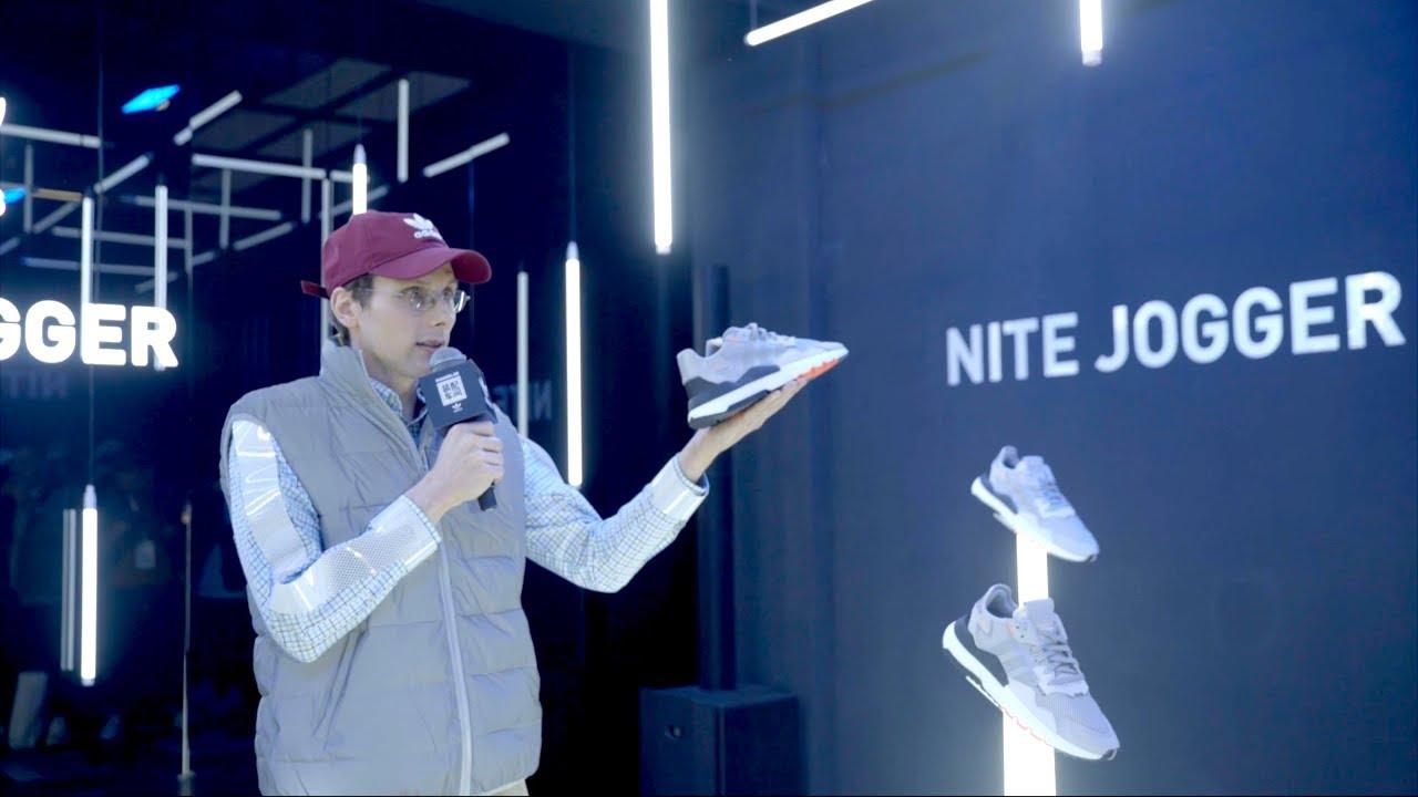 adidas Nite Jogger and Design a Shoe