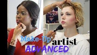 Vlog : Make-up artist advanced training