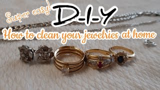 D-I-Y: HOW TO CLEAN YOUR GOLD & SILVER JEWELRIES AT HOME (TAGALOG INSTRUCTIONS)