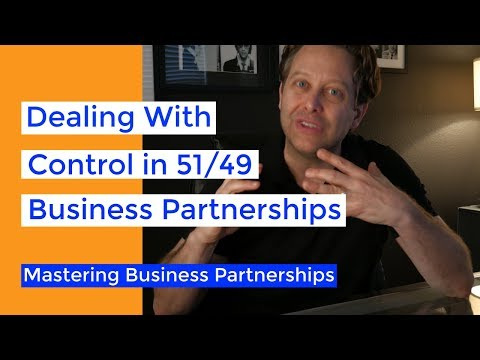 51/49 Business Partnerships | Who Gets The Majority Stake Of Equity?