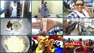 SUNDAY SPECIAL VLOG|LUNCH SPECIAL JEERA RICE RECIPE|MY DRESSING TABLE SHOPPING|MANA INTY TIP\'S