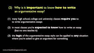 批判性思考:怎麼寫出好的論述文章?