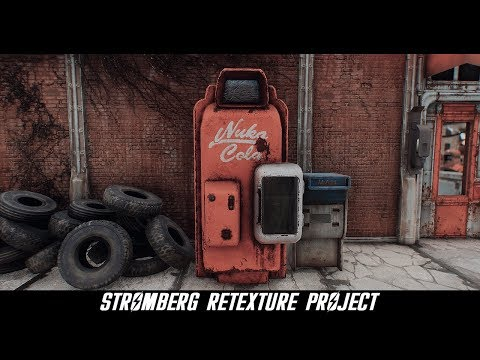 Fallout 4 Mods: Stromberg Retexture Project