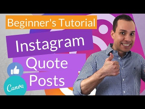 How To Design Instagram Images In Canva | Complete Instagram Post Guide For Beginners