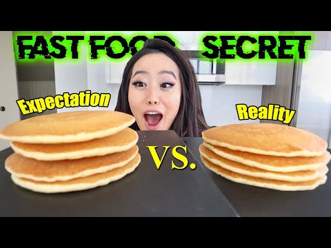 WHY FOOD IN FAST FOOD COMMERCIALS LOOKS SO MUCH BETTER! Insane DIY