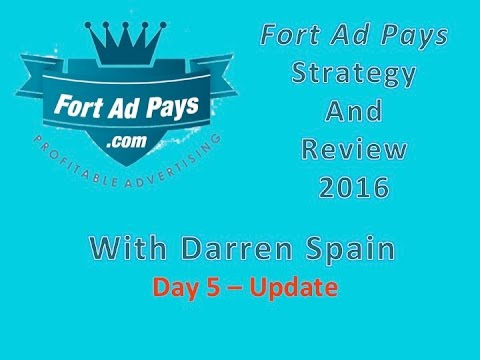 Fort Ad Pays Strategy Review - 2016 Day 5 With Darren Spain