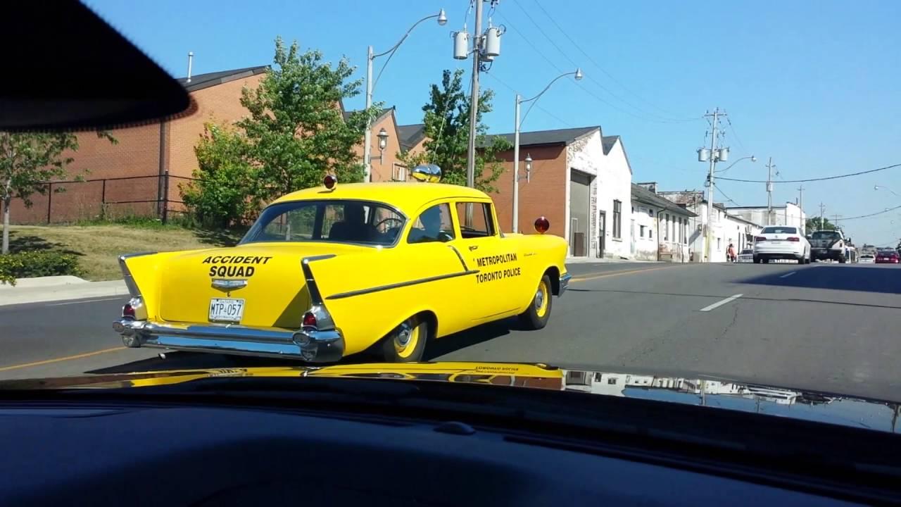 Metropolitan Toronto Police Accident Squad car Chevrolet Bel Air ...