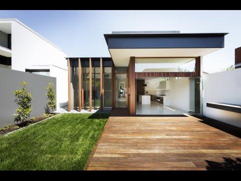 Casa moderna de un piso youtube for Fachadas de casas modernas 1 piso