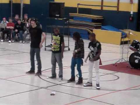 SOP (Swag On Point) Margaret Buerkle Middle School Talent Show 2010