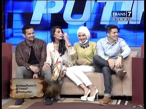 Hitam Putih   04 03 2013Shireen Sungkar, Tengku Wisnu, Zaskia Sungkar, Irwansyah Part3