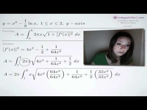 Surface Area of Revolution (KristaKingMath)
