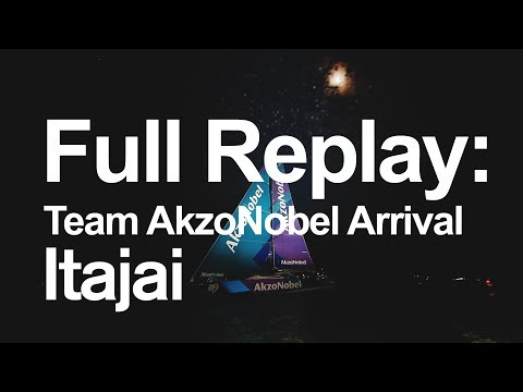 Full Replay: Team AkzoNobel Arrival in Itajai | Volvo Ocean Race