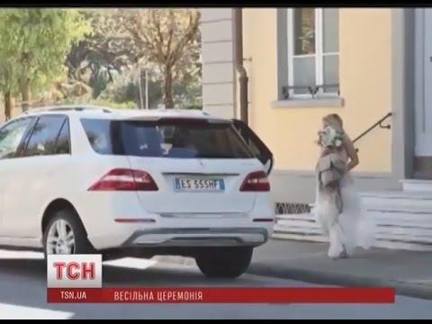 Вера Брежнева вышла замуж за Константина Меладзе  Свадебная церемония в Италии