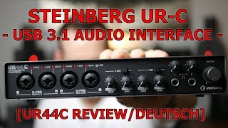 STEINBERG UR44C [Review/deutsch] - NEU!! - SickAzzTonez