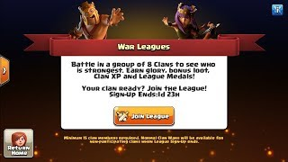 Let's Start Clan War League - Clash Of Clans India