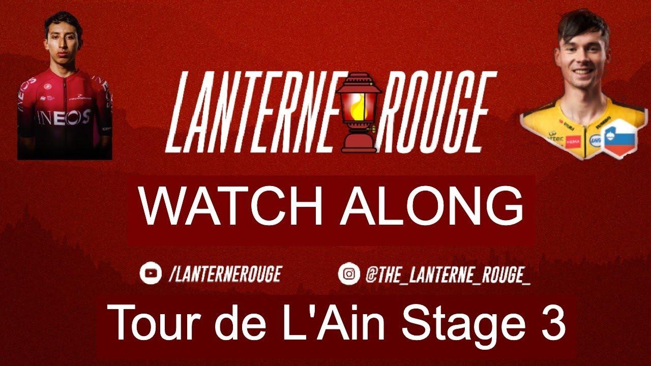 Tour de l'Ain Stage 3 Live Commentary Watch-along - Lanterne Rouge