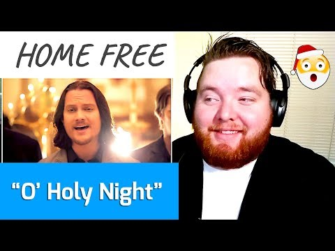Home Free | O Holy Night | Jerod M Reaction
