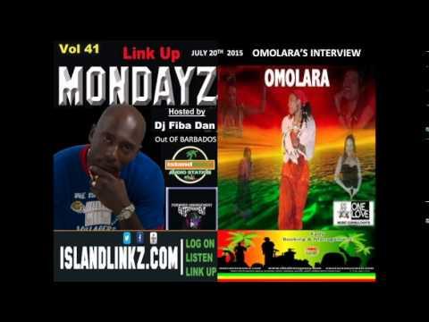 Omolara radio interview from Barbados with Dj Faba Dan on islandlinkz.com
