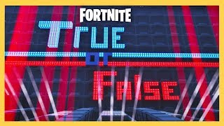 True or False Deadly Trivia Challenge in Fortnite Creative!   Swiftor