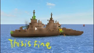 Roblox Battle Ship Battle Funny Moments W/Boss Gaming