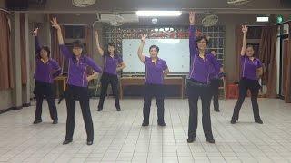 Pom Poms Line Dance 彩球舞(含分解數拍):中級排舞
