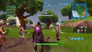 Playing Fortnite Can You guys use me code Justin Please