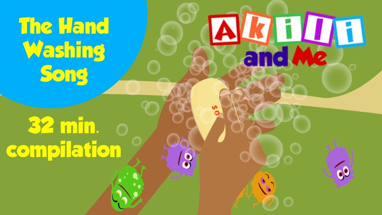 Hand Washing Song... and more simple songs from Akili and Me   Positive African Edutainment