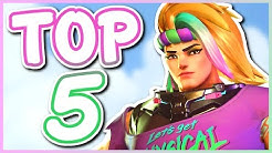 Overwatch - TOP 5 BEST ZARYA SKINS