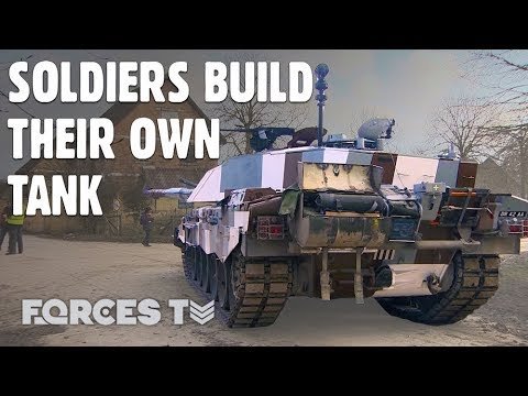 These Are The Upgrades Soldiers Chose For Their Dream Battle Tank • CHALLENGER 2   Forces TV