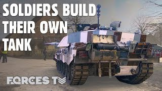 These Are The Upgrades Soldiers Chose For Their Dream Battle Tank • CHALLENGER 2 | Forces TV thumbnail